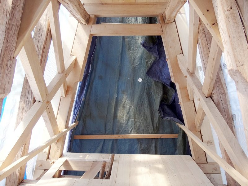 Kirche St.Peter und Paul, Ellerbach4_Restaurierung Turmhelm-04